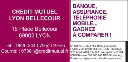 Logo Crédit Mutuel Lyon Bellecour